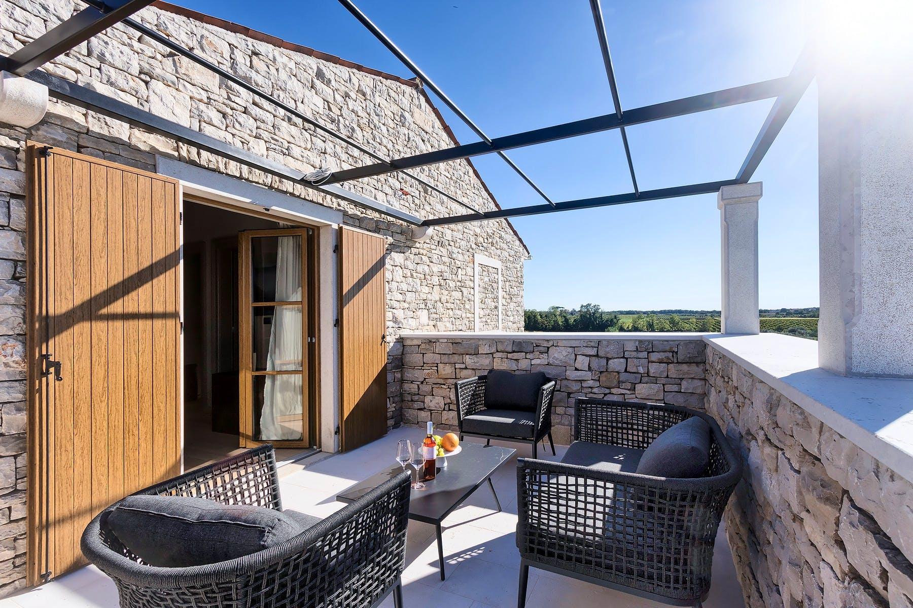 Lounge zona na terasi