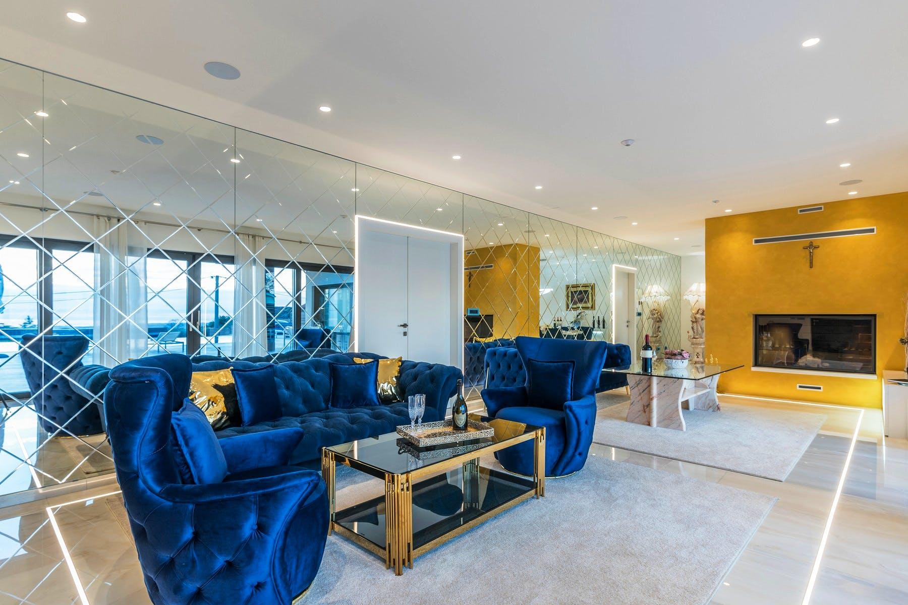 Inviting and elegant interior design
