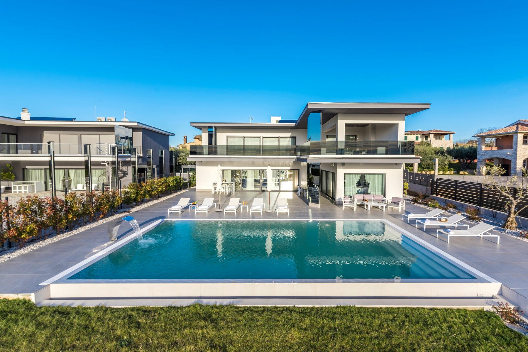 Modern style villa for rent in Istria