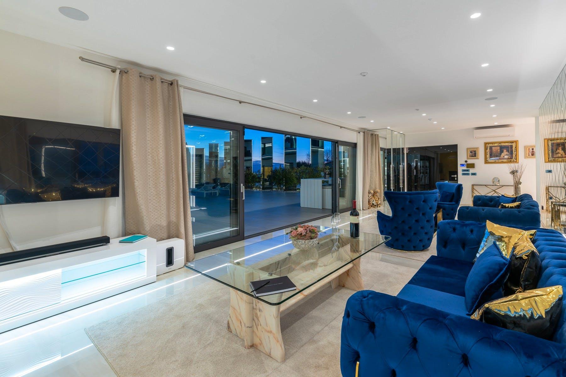 Glamorous interior design