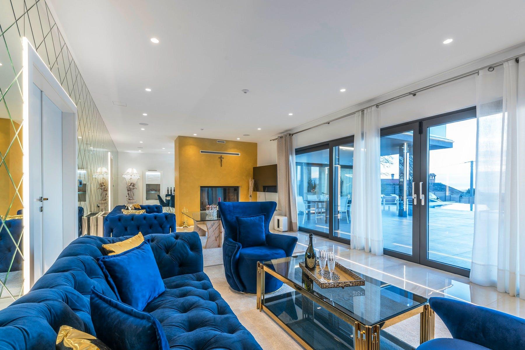Elegant and modern interior design