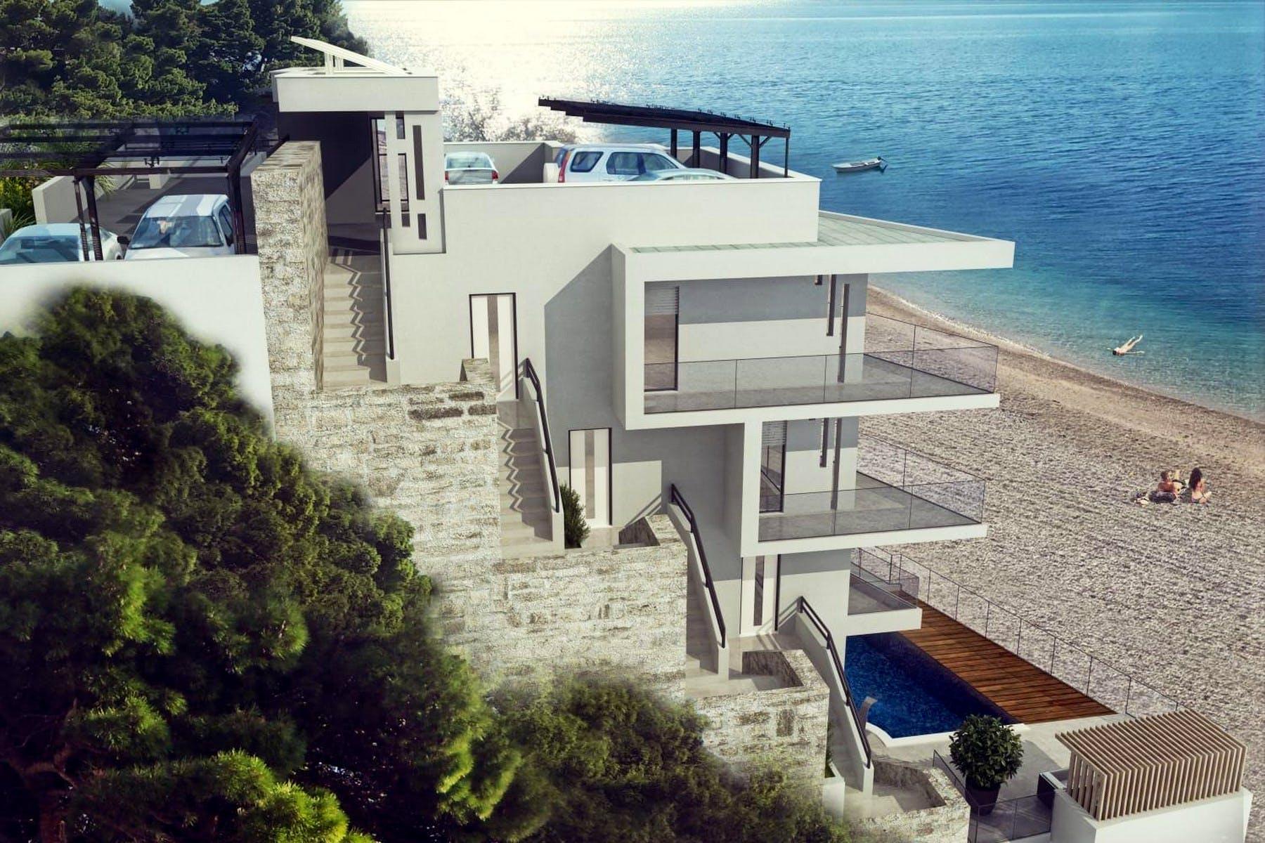 Cotemporary villa under construction for sale