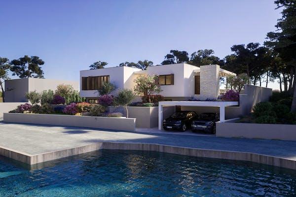 Newly built villa near Šibenik for sale