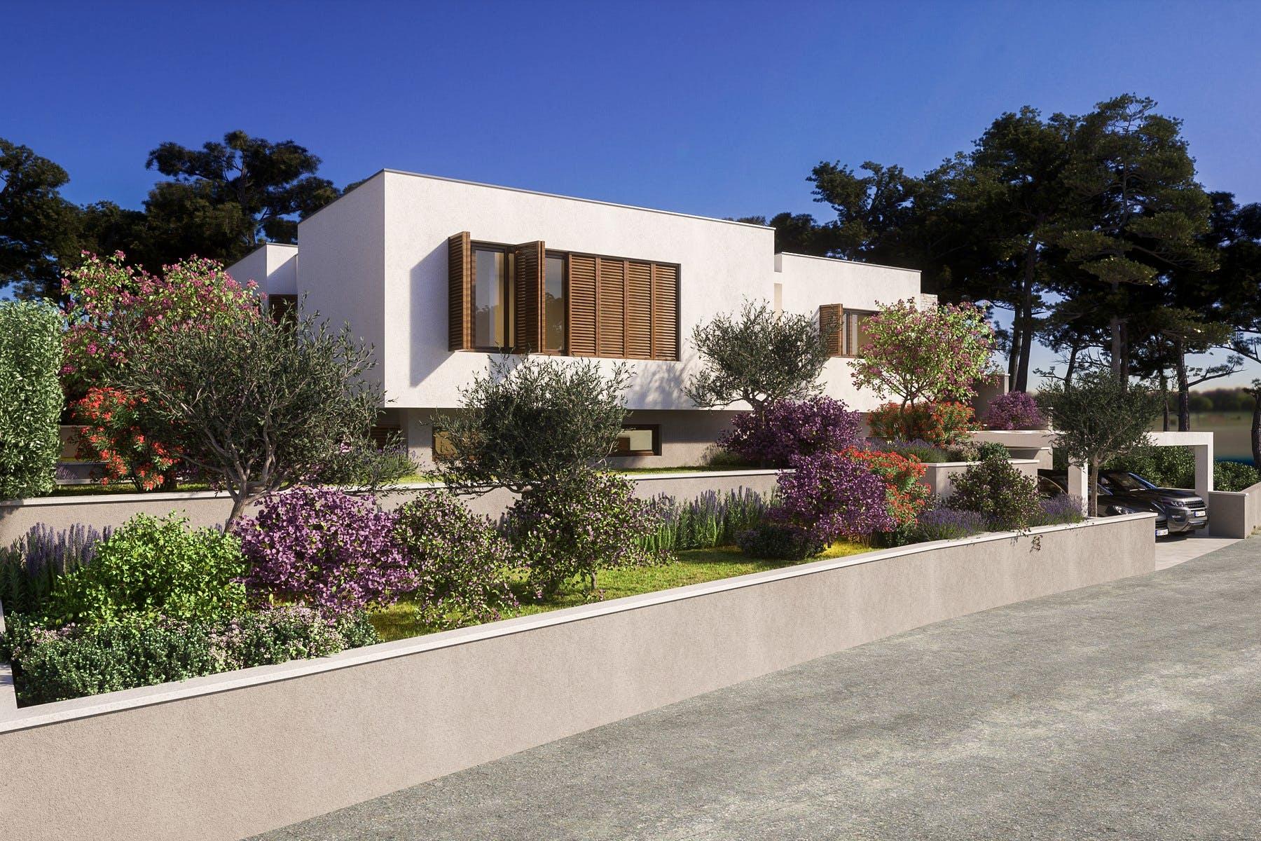 Contemporary villa by the sea for sale