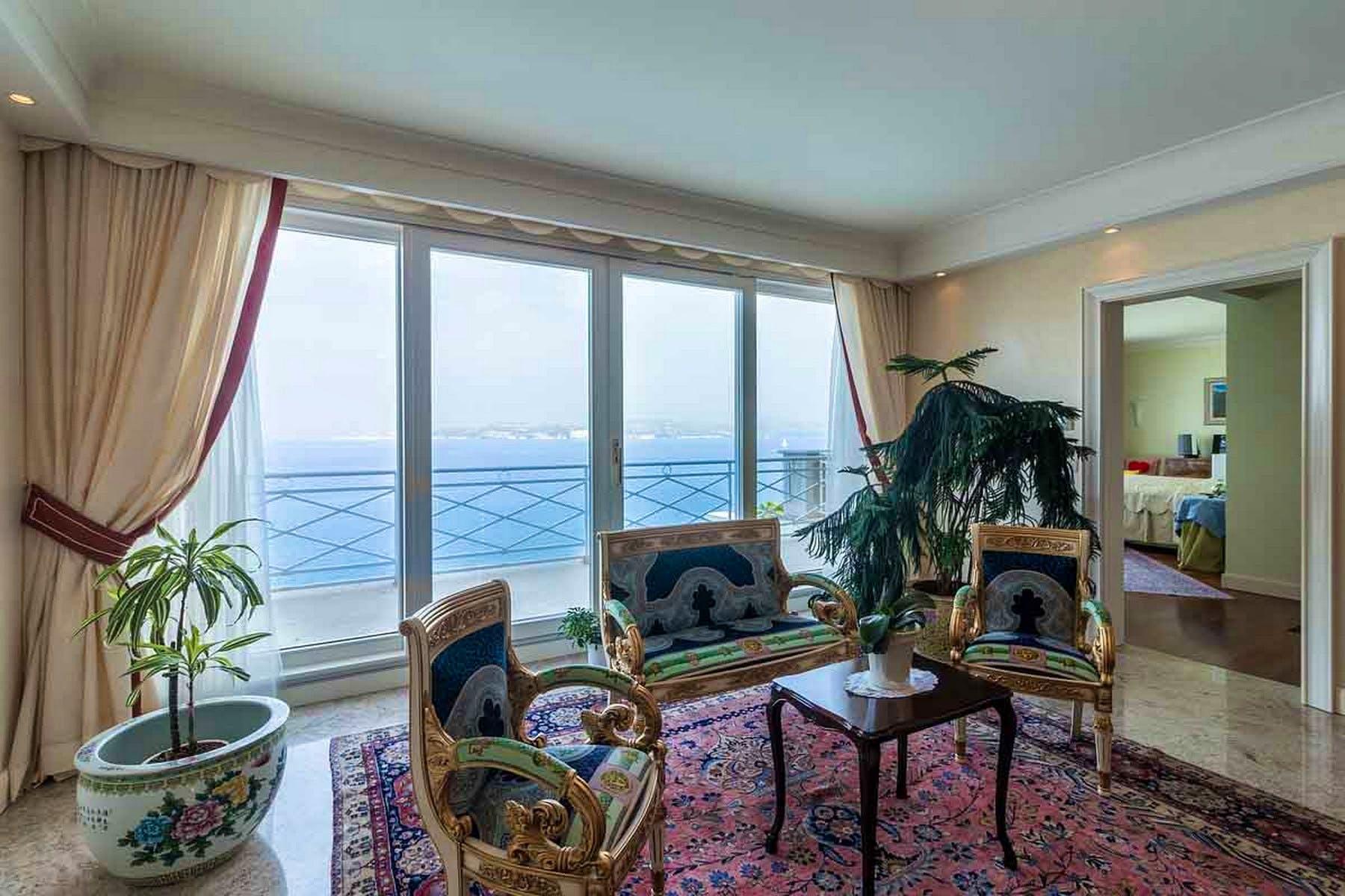 Lounge zona s pogledom na more