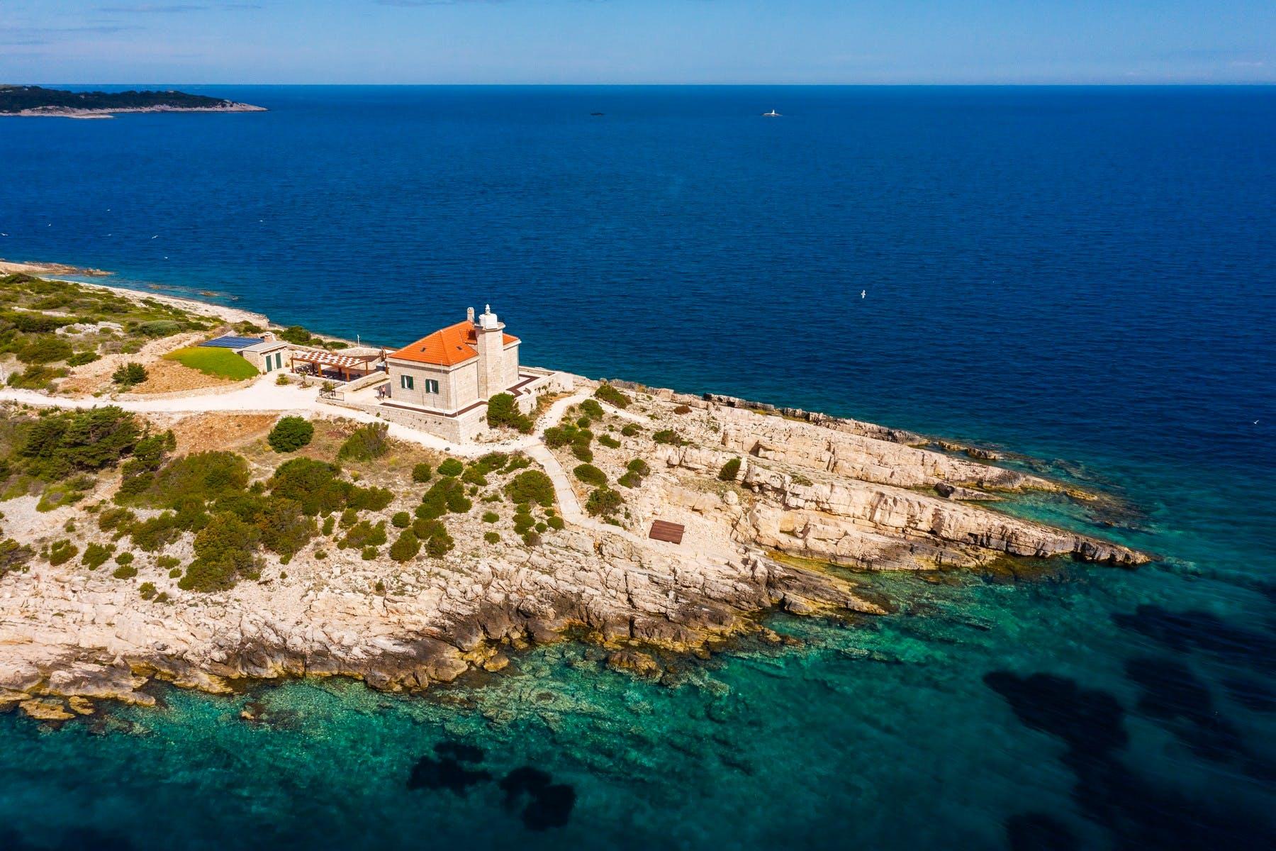 Exclusive stone villa on the private island