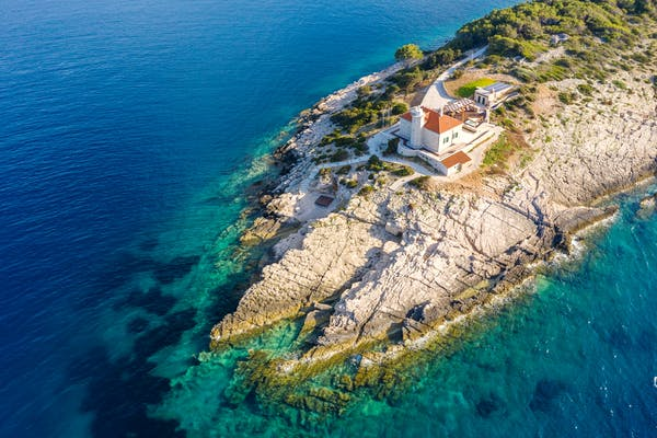 Villa for rent surrounded by crystal clear Adriatic