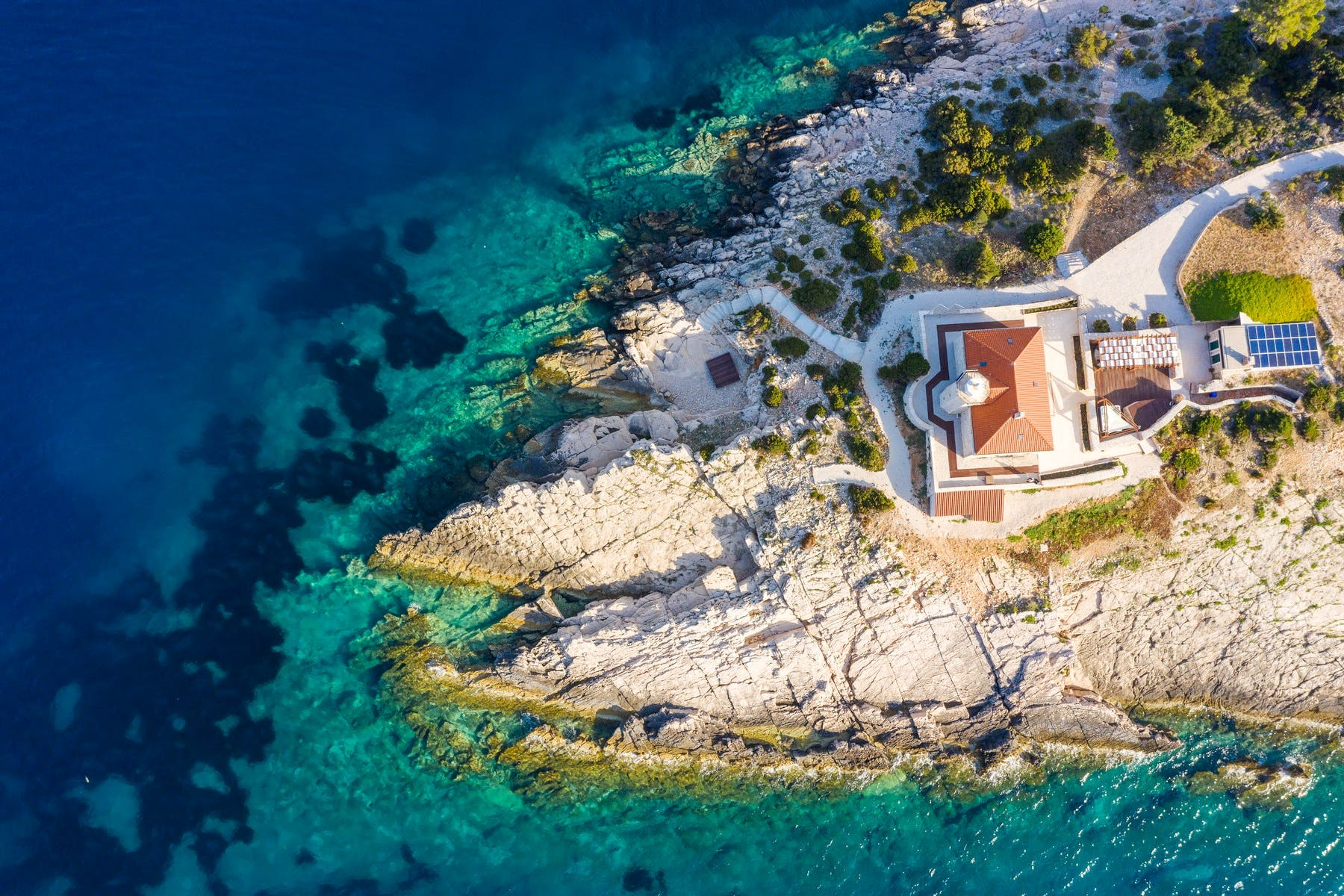 Unique villa for rent located on an exceptional private islet