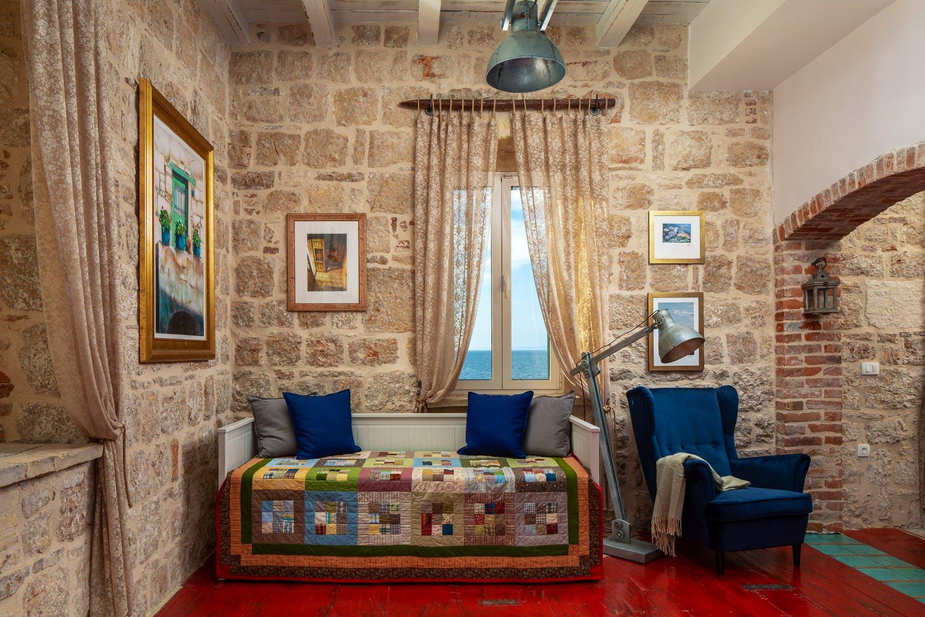 Cozy corner in the villas