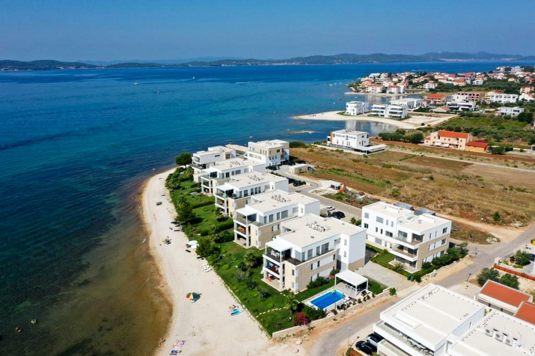Seafront apartments for sale near Zadar