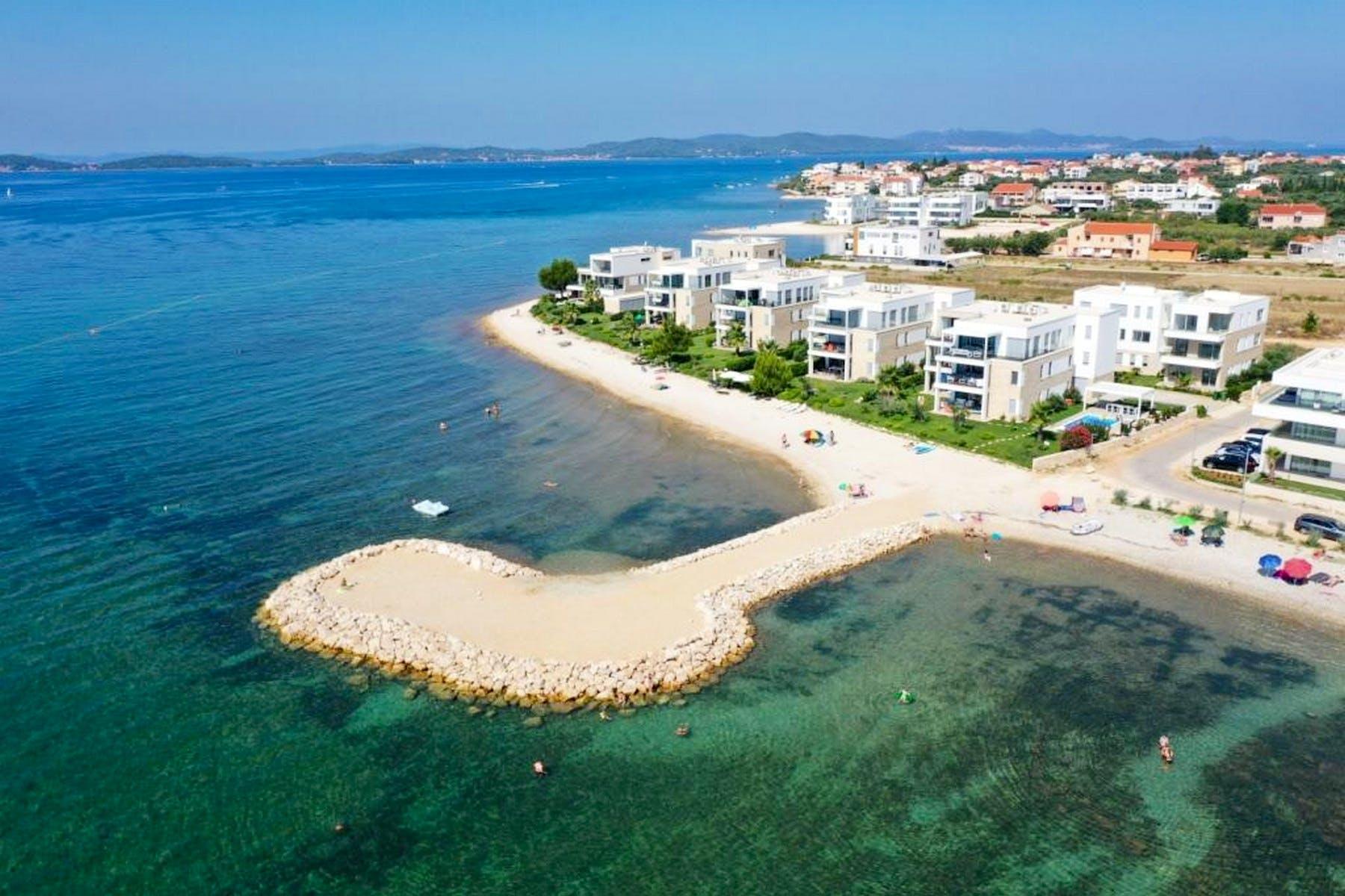 Newly built apartments for sale near Zadar