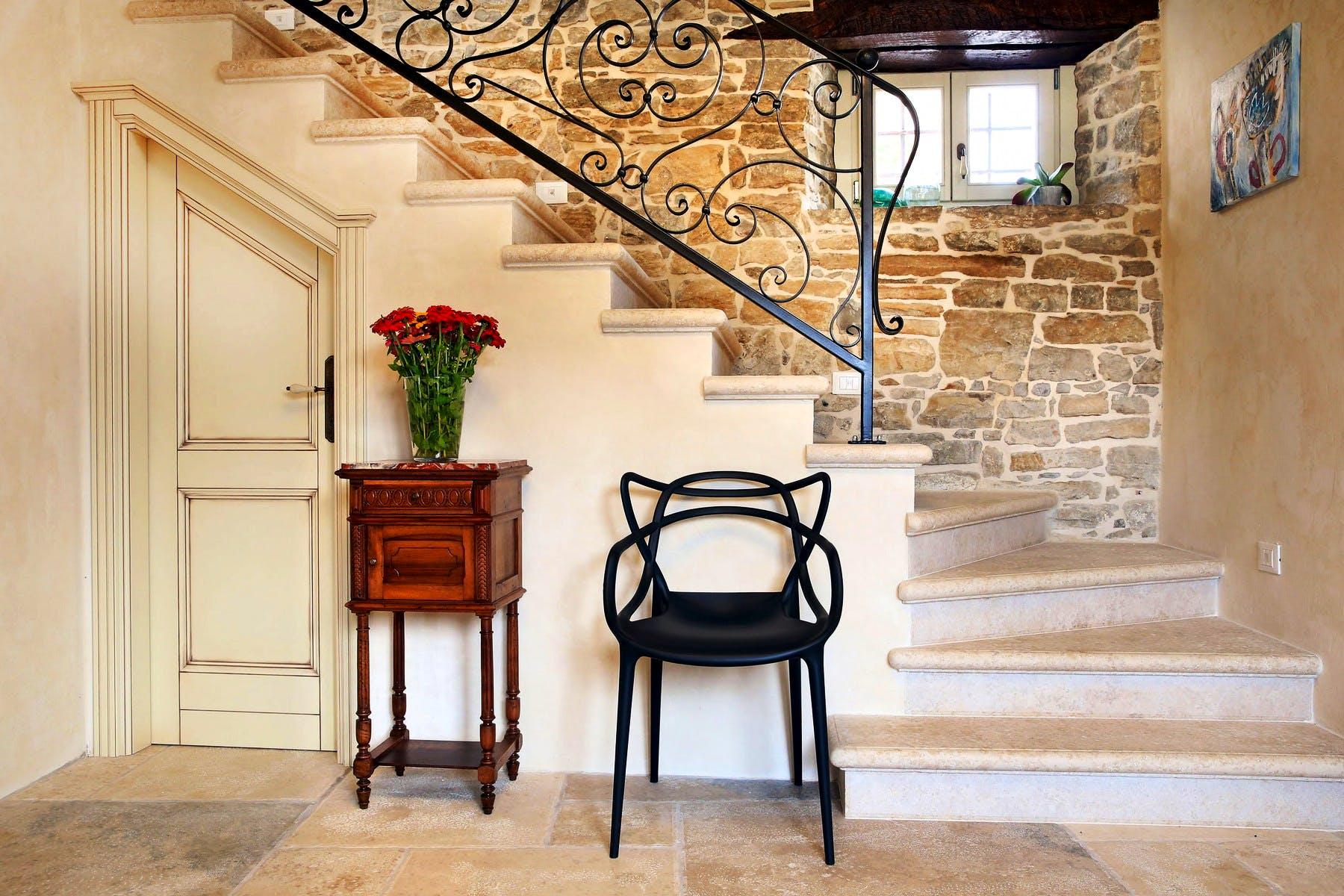 Traditional interior design details