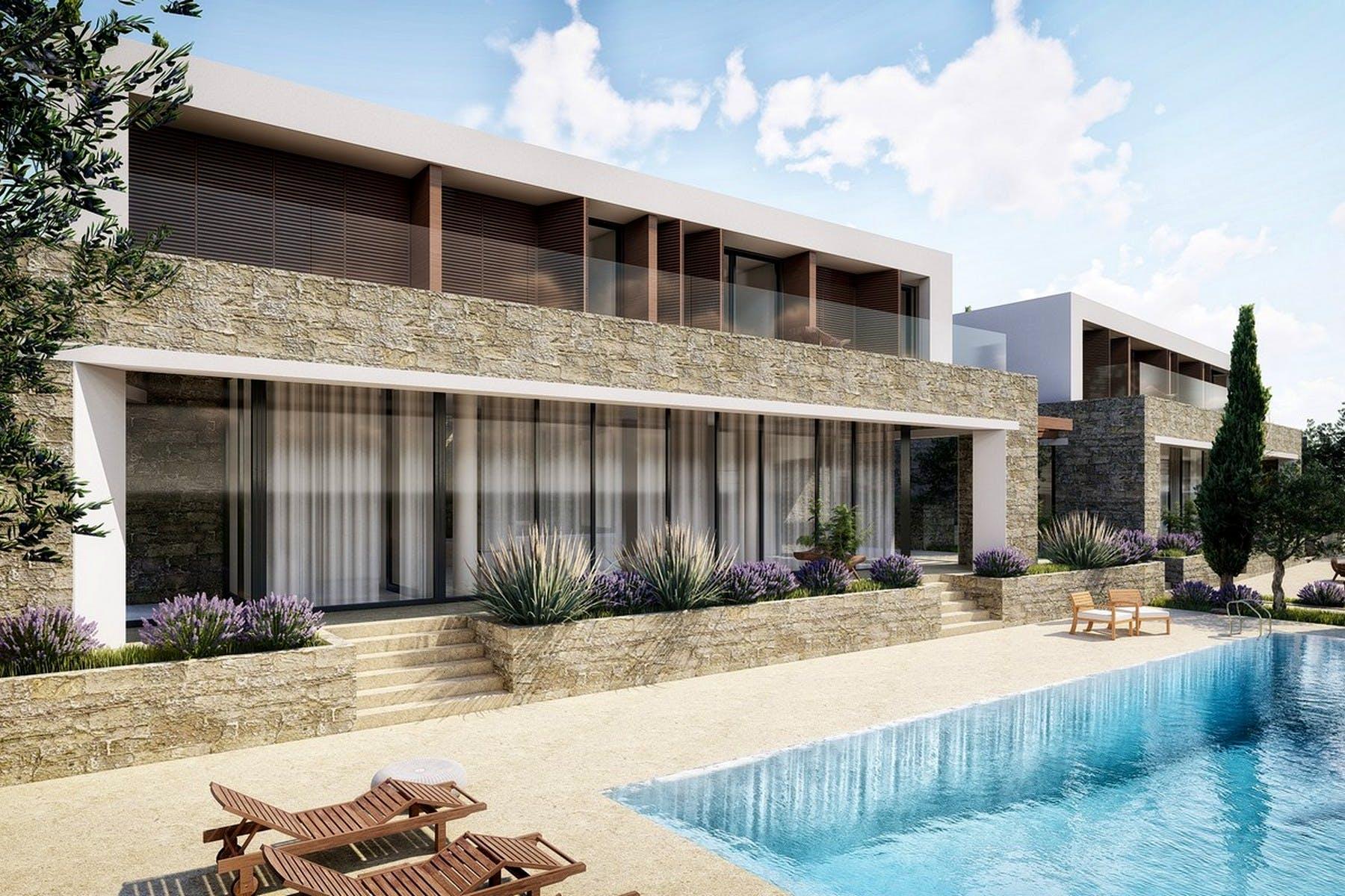 Projekt modernih vila na Šolti