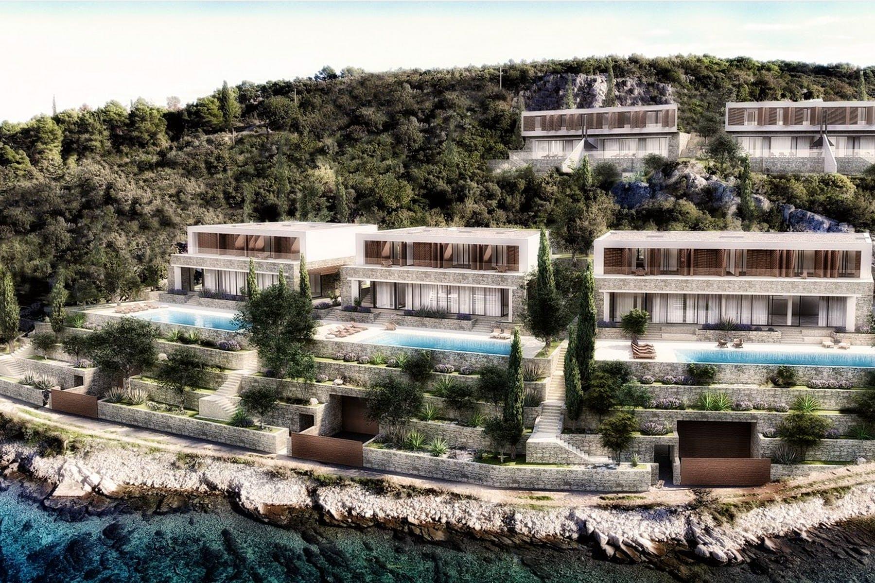 Seafront plot on Šolta for sale