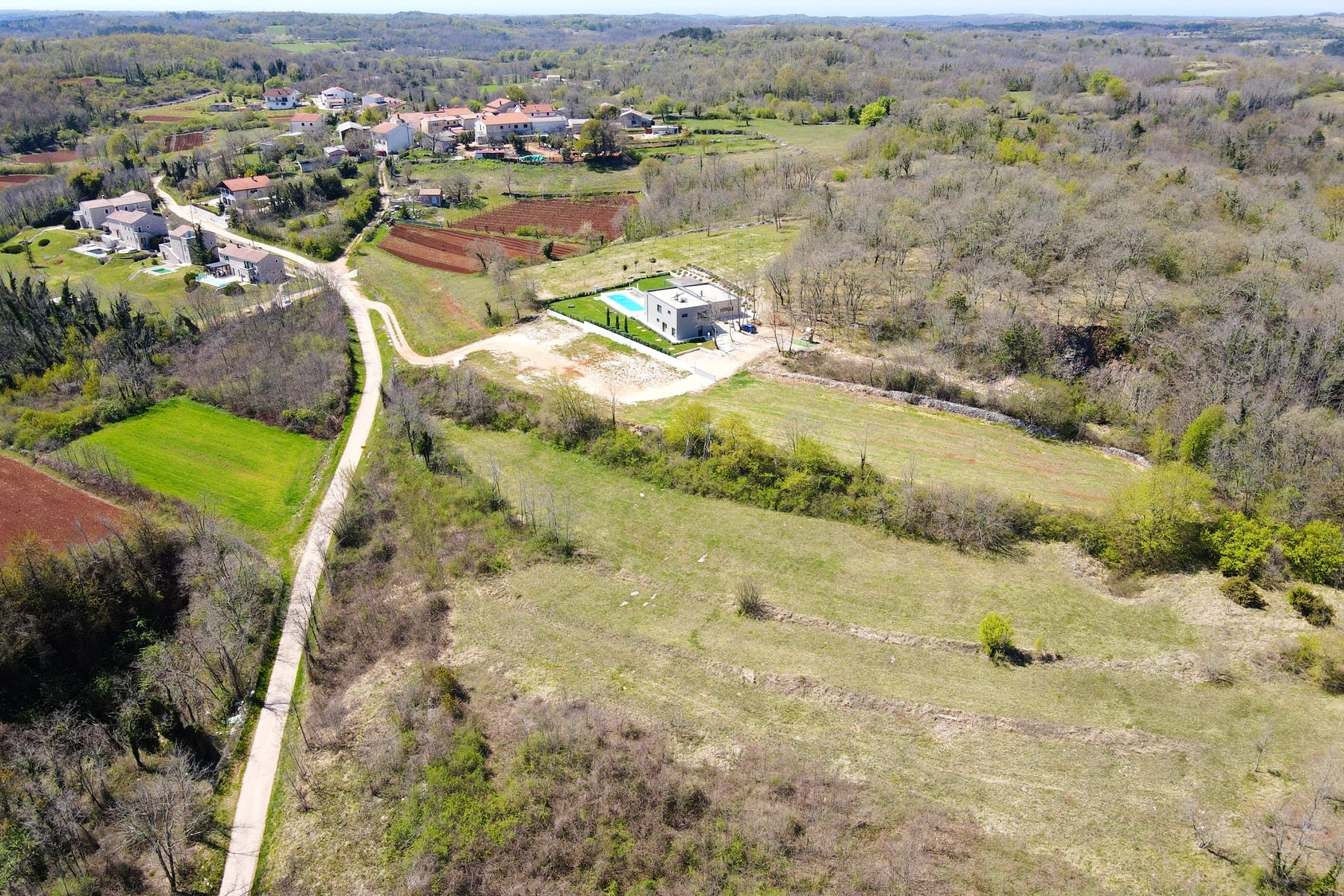 Mixed use land in Istria for sale