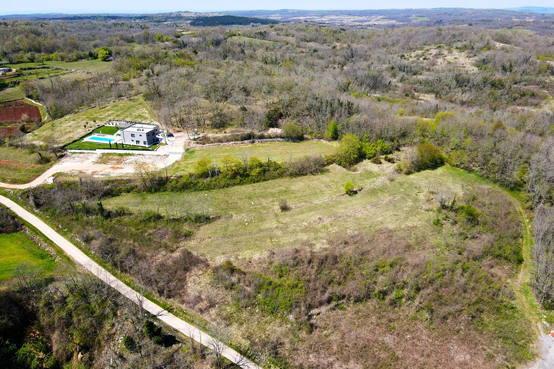 Spacious land in Istria for sale