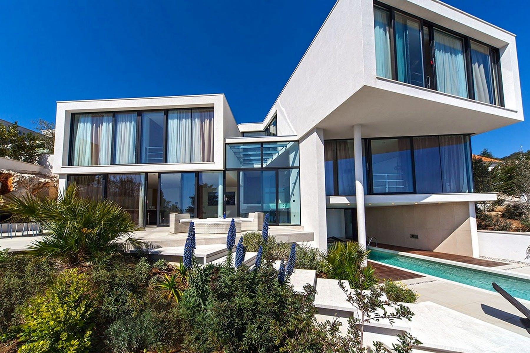 Modern villas in a resort for sale