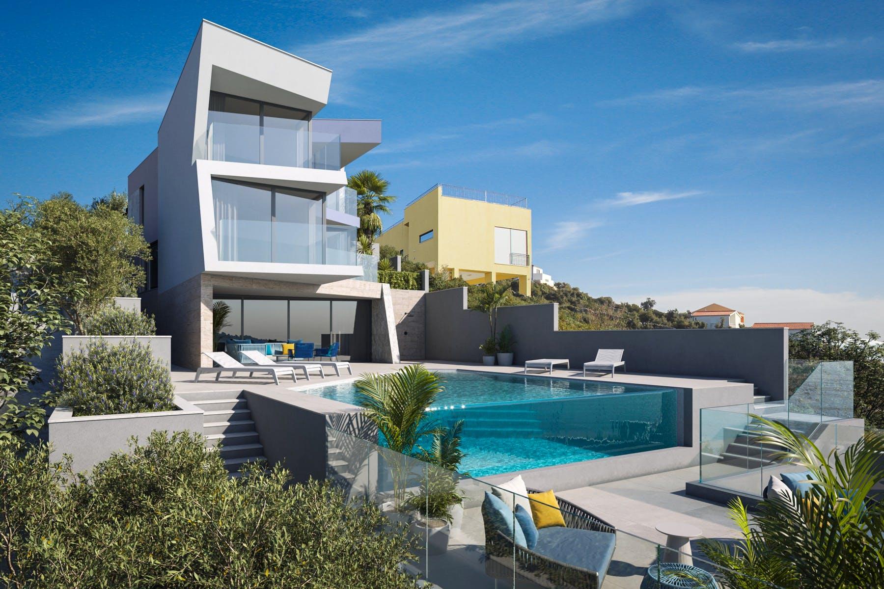 Luxurious villa near Rogoznica for sale