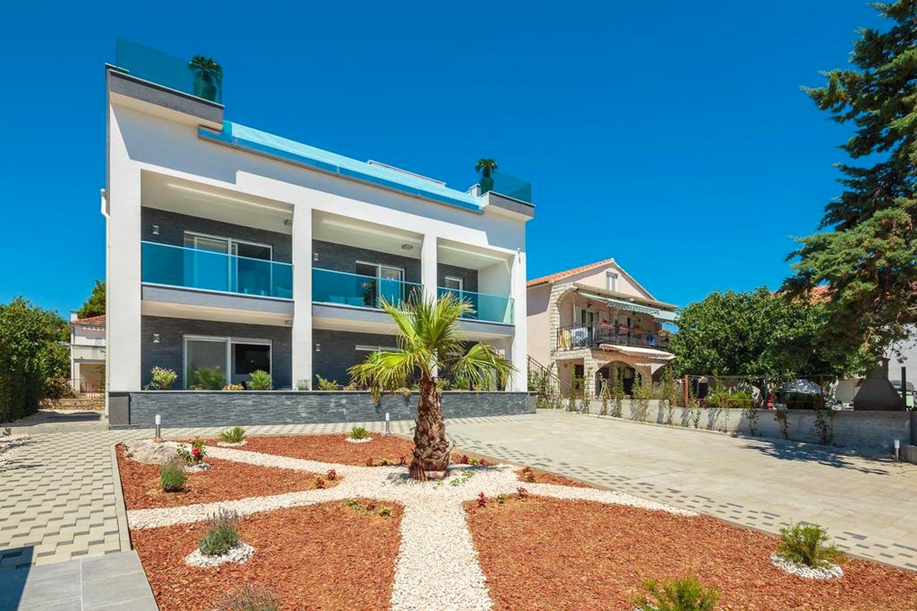 Modern villa near the sea for sale