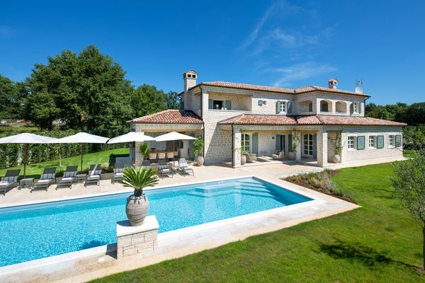 Reinvented modern yet traditional Istrian villa for sale