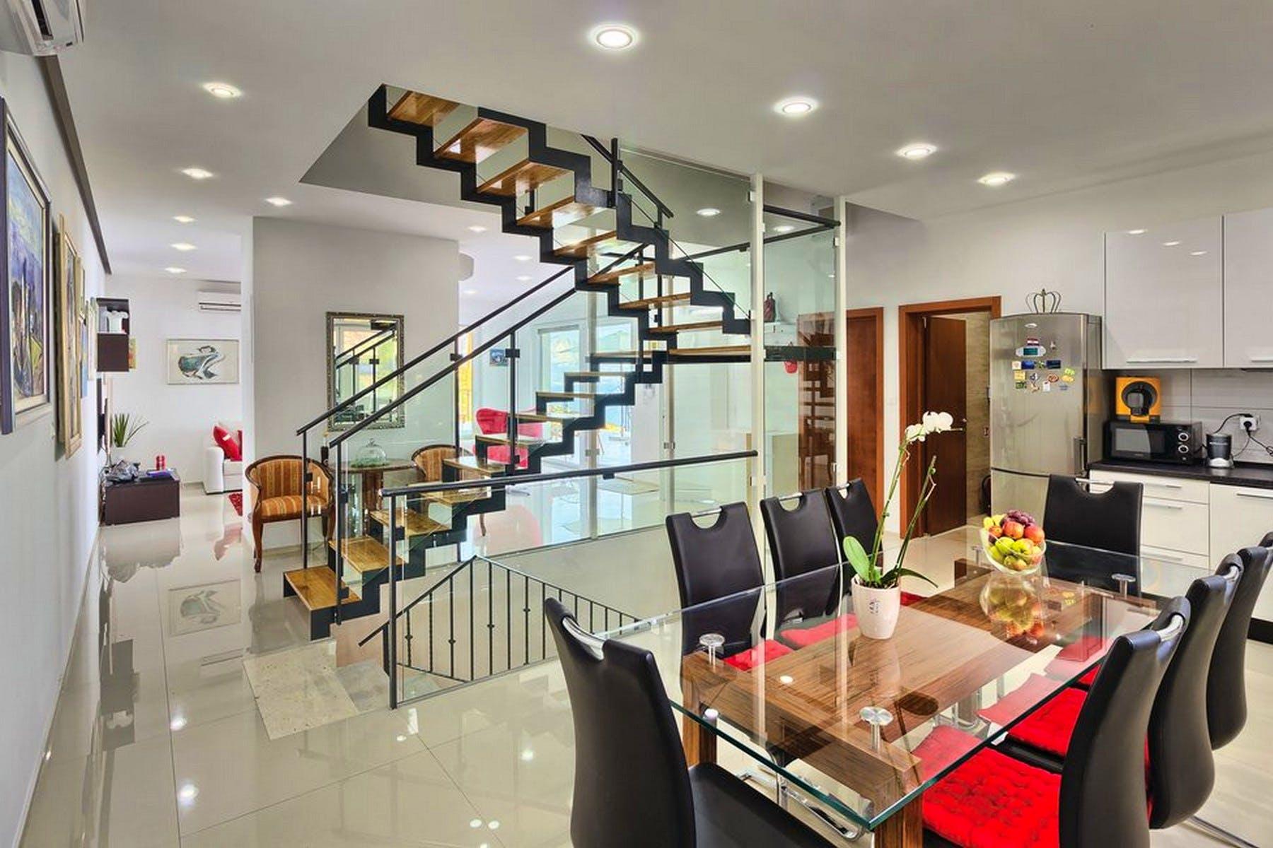 Carefully designed interior