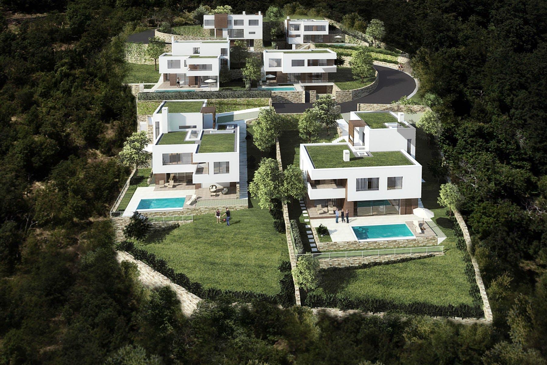 Projekt s važećim građevinskim dozvolama za 6 luksuznih vila u Opatiji