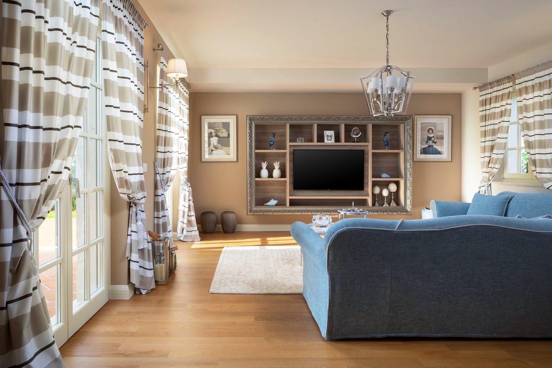 Harmonious living room decor