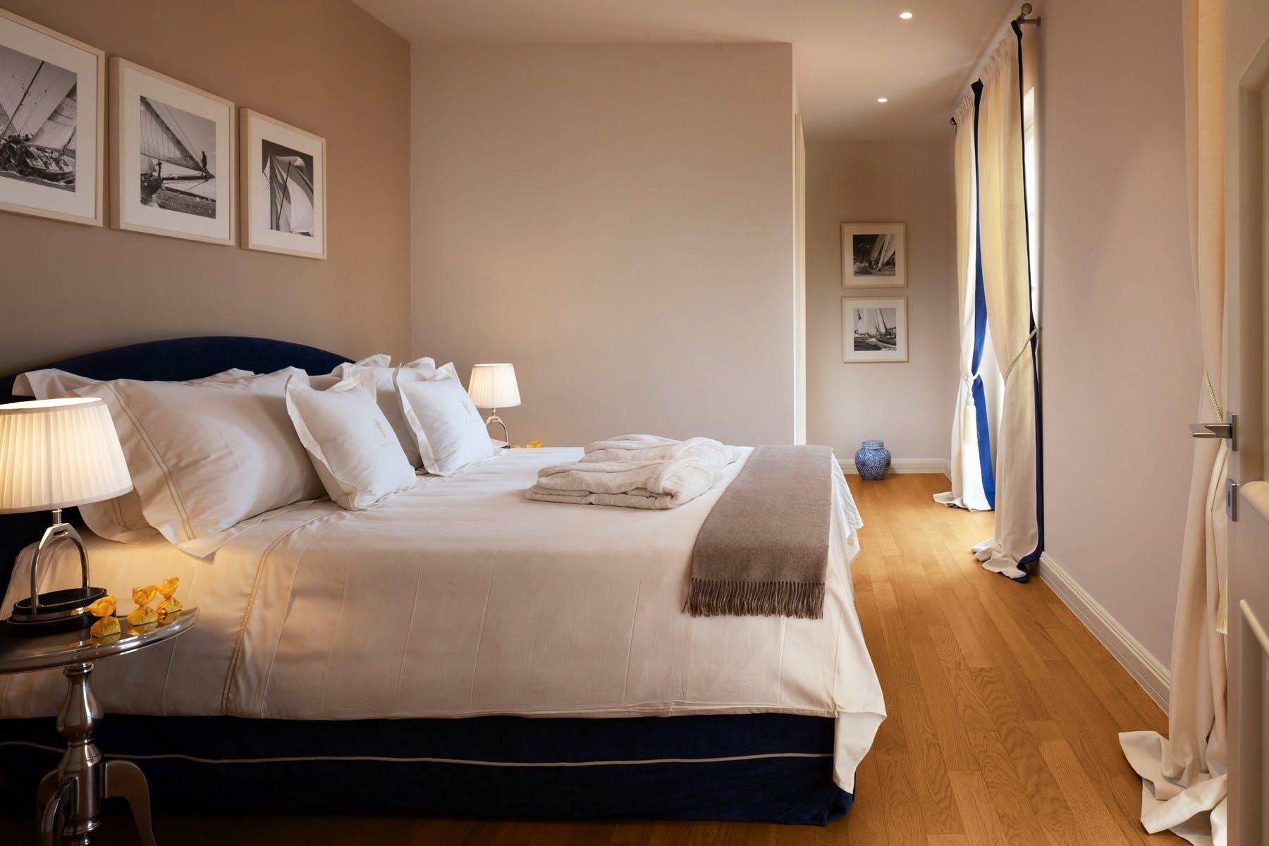 Refined double bedroom design