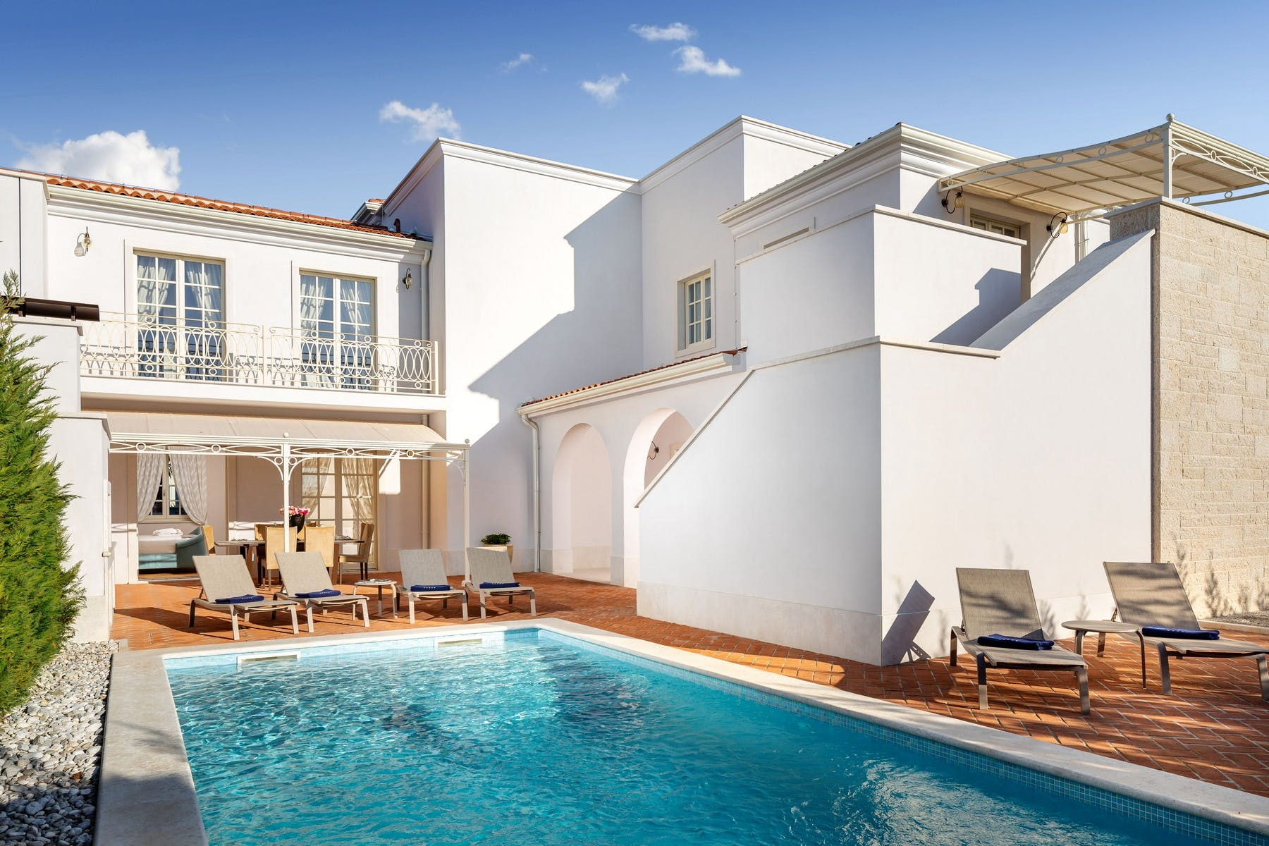 Refined holiday villa with modern pool