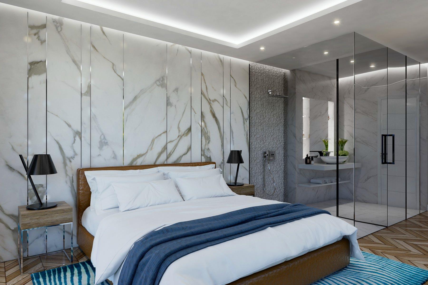 Suvremeni dizajn spavaće sobe