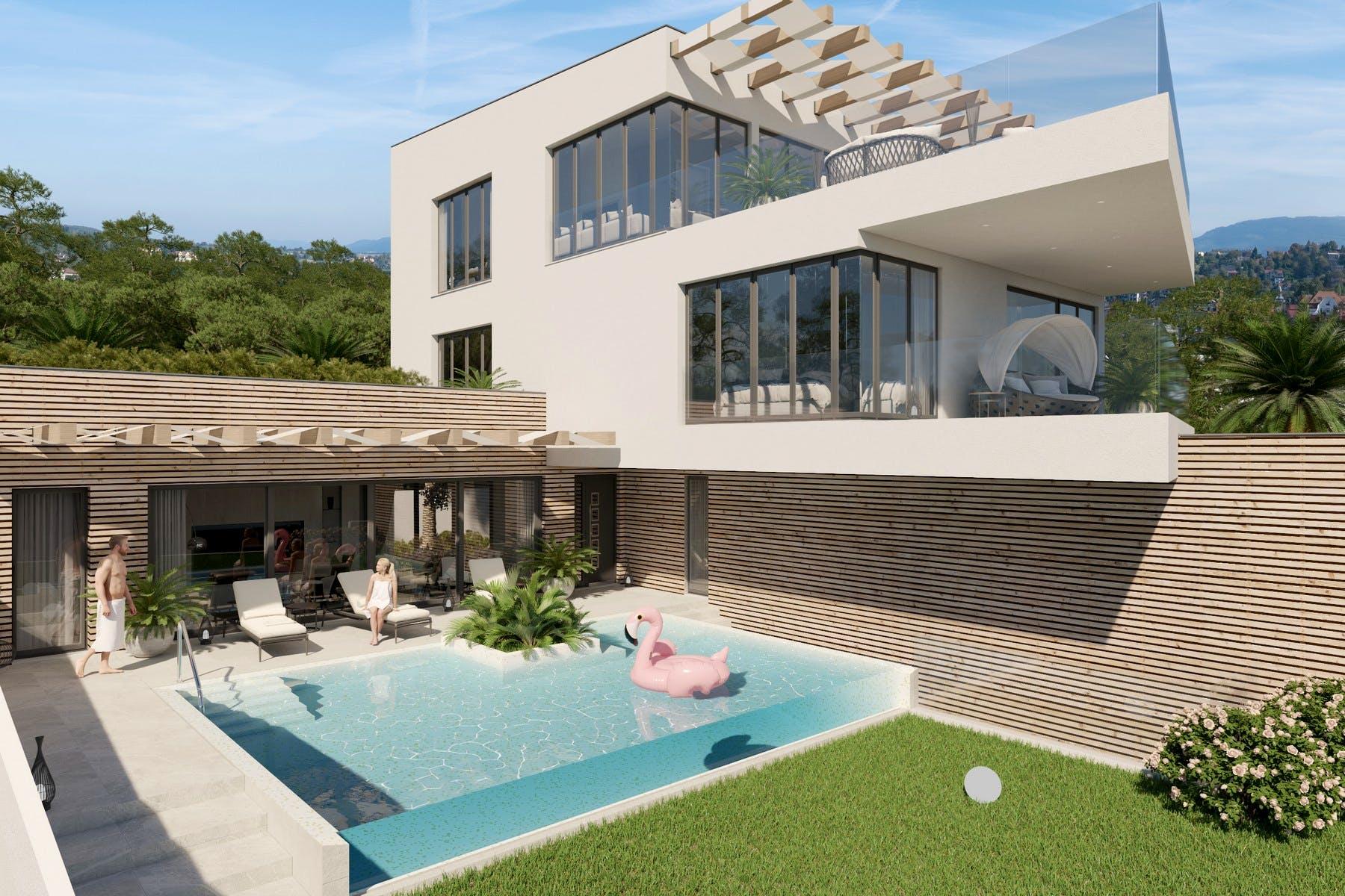 Vila modernog stila na prodaju