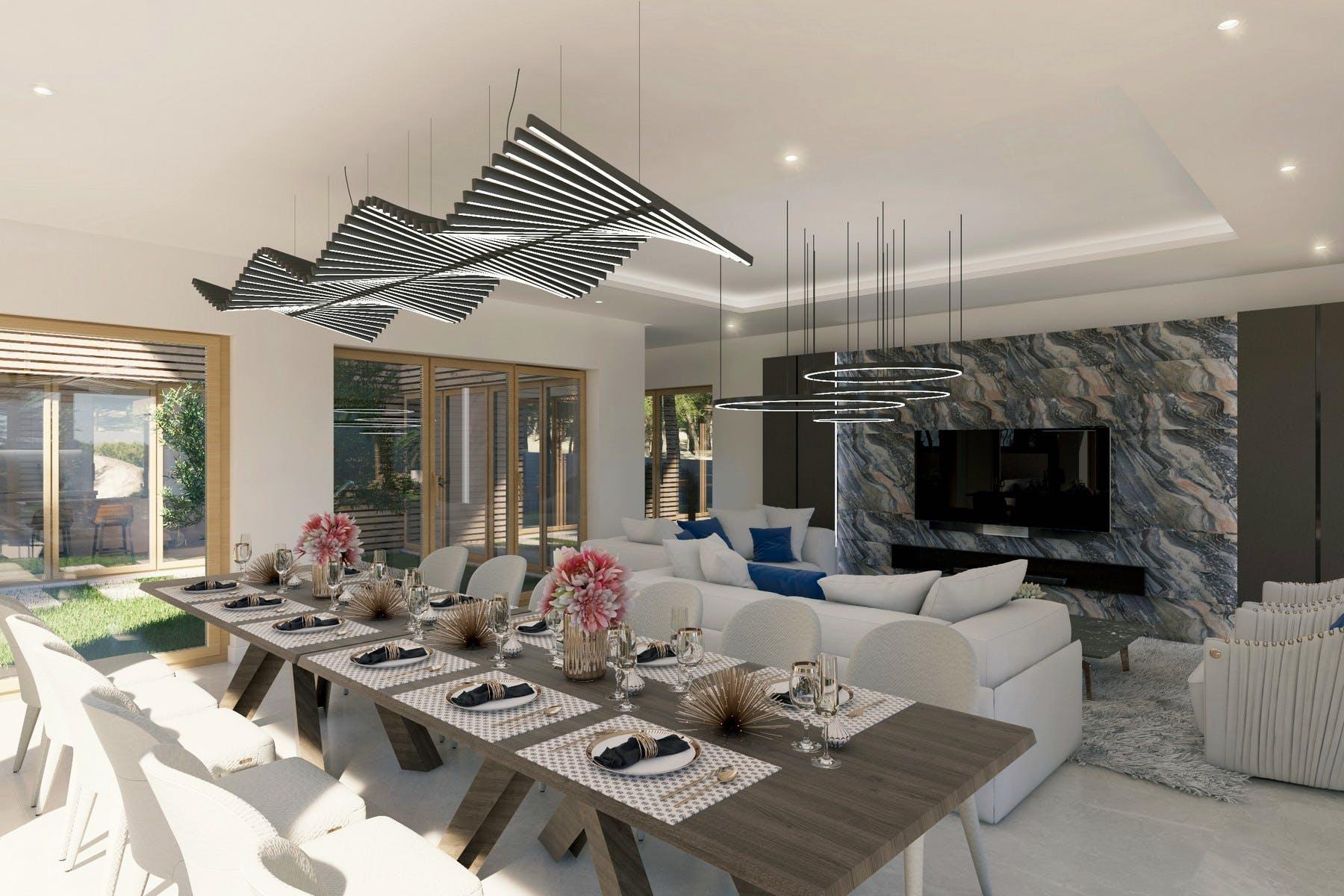 Elegantni i moderni dizajn interijera
