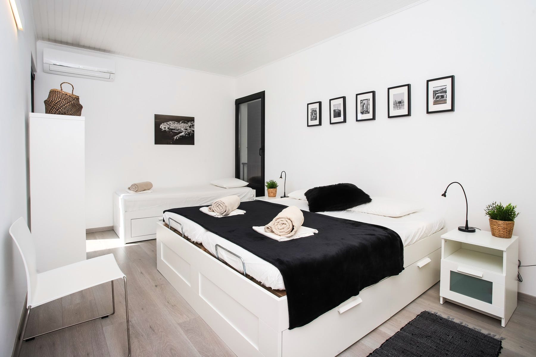 Modern and comfortable bedroom