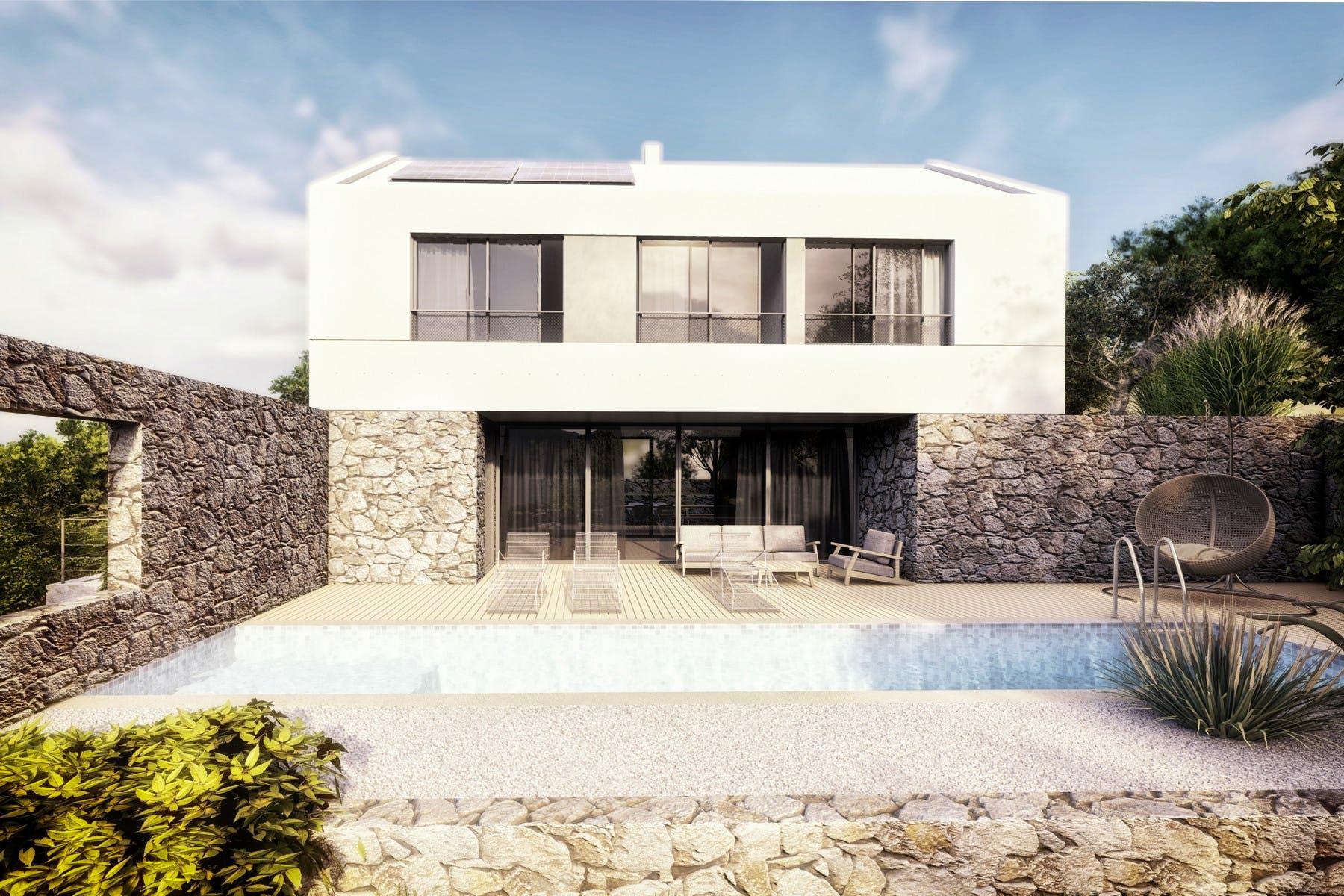 Villa of the unique design