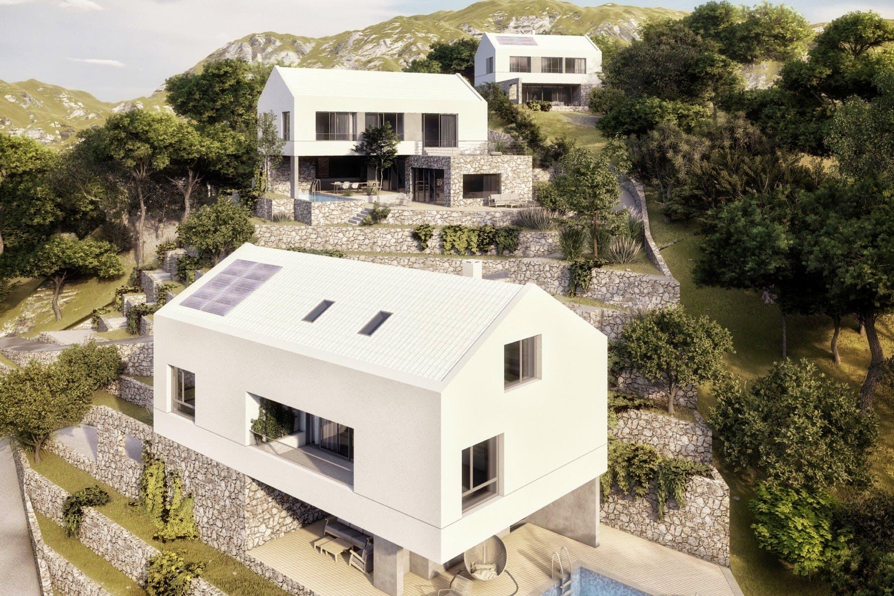 Project for 3 luxury villas
