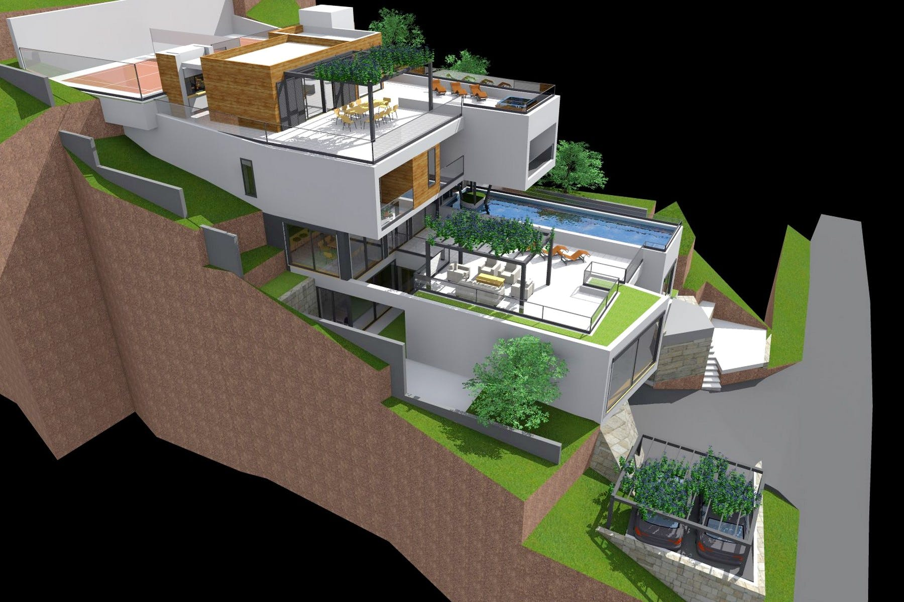 Idejno rješenje luksuzne vile