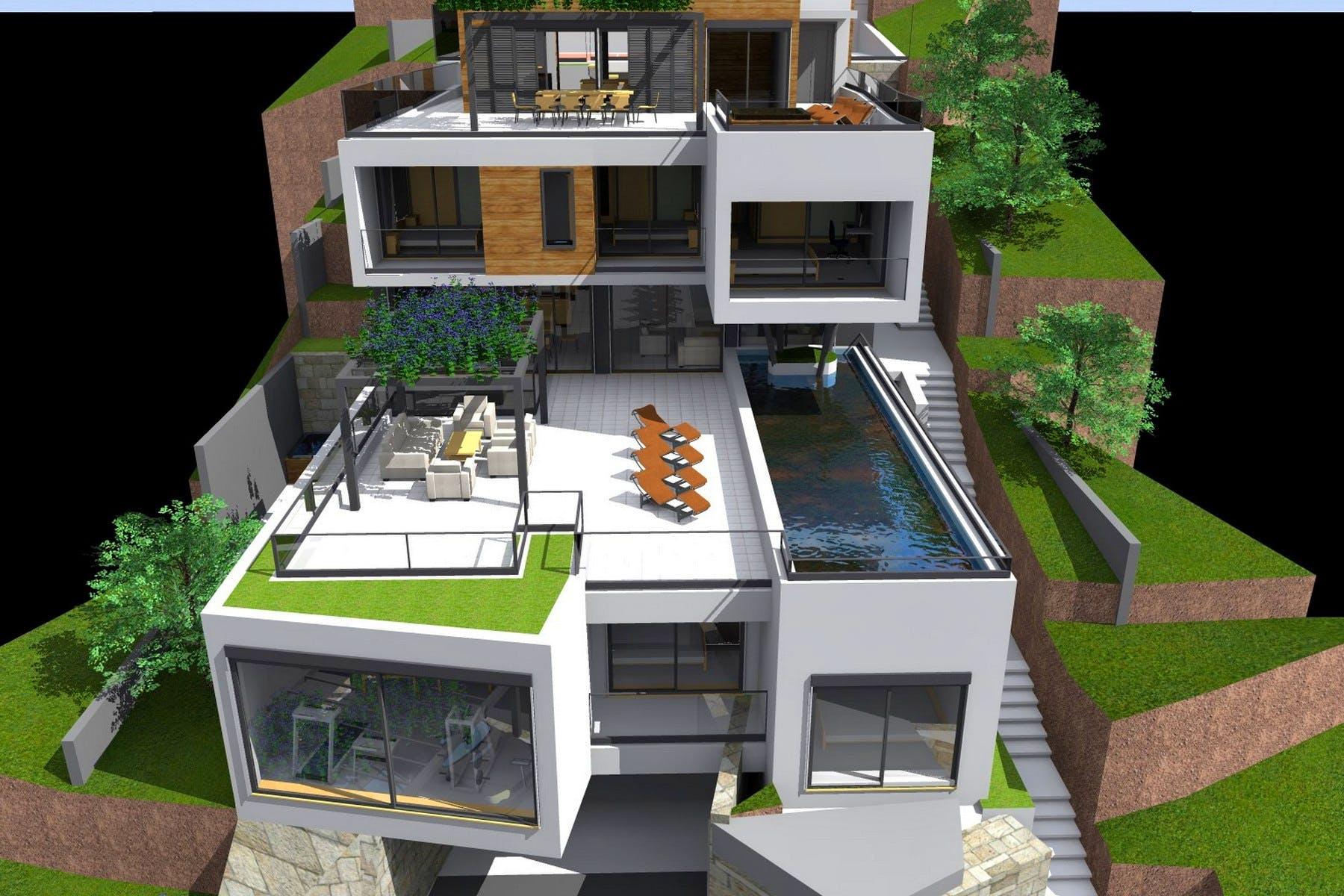Dizajn moderne vile