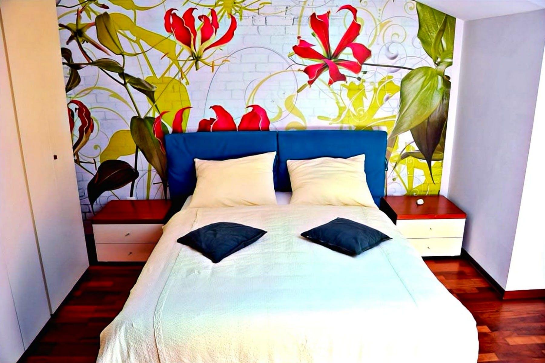 Udobna spavaća soba