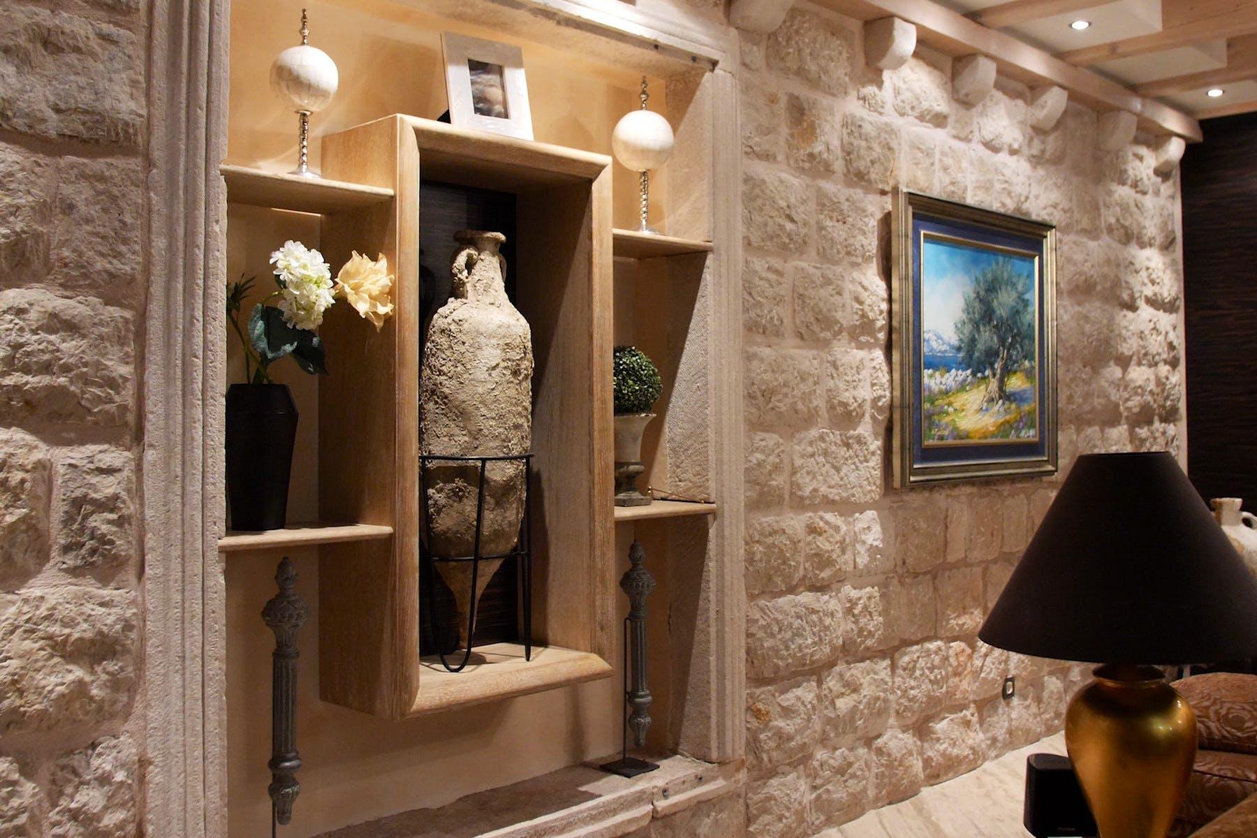 Luxurious interior details
