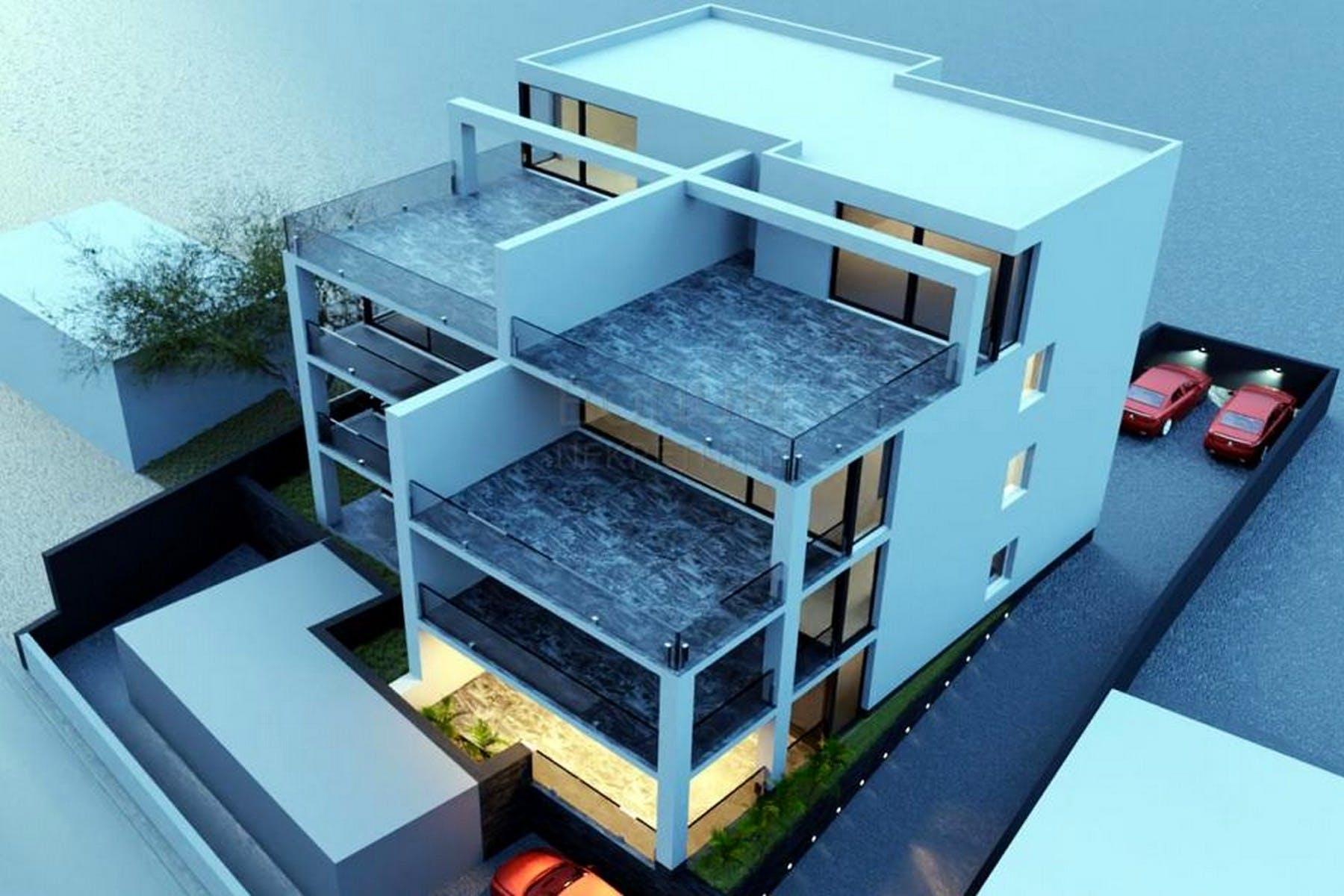 Novoizgrađeni apartmani uz more