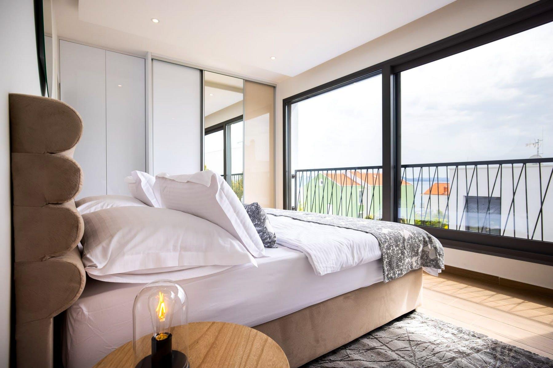 Double bedroom on the upper floor level