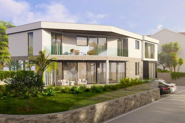 Modern villa near Trogir